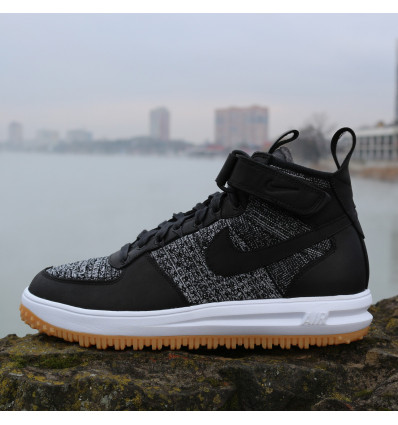 Купить Nike Lunar Force 1 Flyknit Boot 855984-001 — 5,596.00 ₽