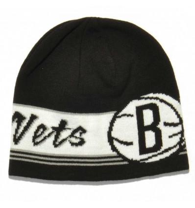 Купить adidas NBA Beanie Brooklyn Nets шапка D82546 — 298 руб ₽