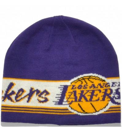 Купить adidas NBA Beanie Los Angeles Lakers шапка D82549 — 298 руб ₽